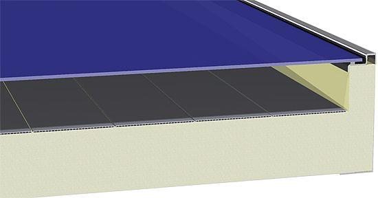 Aurinkokeräimen rakennepiirros