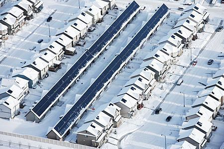 Drake Landing Solar Community – Okotoks, Canada
