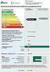 EkoAke henkilöauton energiamerkintä